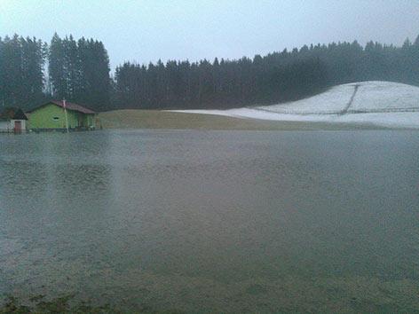 Überschwemmungen Feistritz
