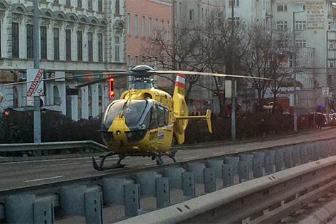 U1 nach Fehlalarm unterbrochen: Auch Notarzthubschrauber war im Einsatz