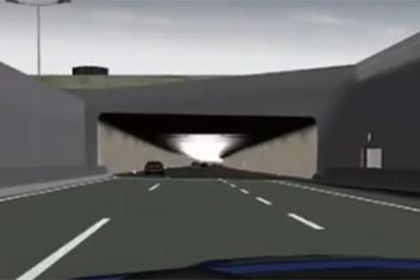 Visualisierunmg Lobautunnel aus Imagevideo
