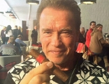 Arnold Schwarzenegger Zigarre