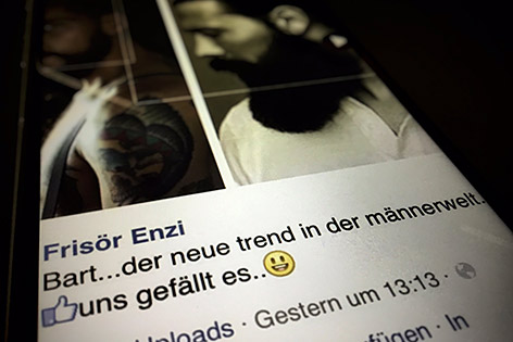 Vollbart facebook Protestwelle shitstorm