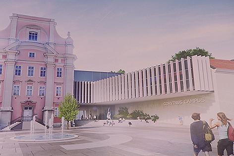Neuer Campus der Fachhochschule Wiener Neustadt