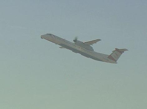 AUA Flugzeug Flieger Luft