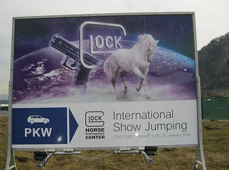 Glock Plakat