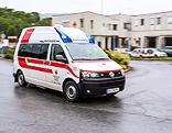 Rettungsfahrzeug in Deutschlandsberg