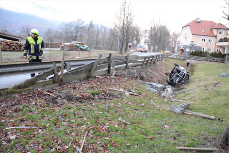 Unfall in Erl