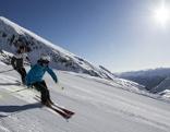 Skifahren in Kühtai