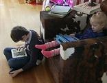 Kinder mit Smartphones, Kurzsichtigkeit