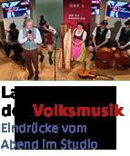 Philipp Meikl auf der Bühne bei der Langen Nacht der Volksmusik 2016