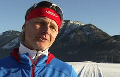 Josef Rehrl Langlauftrainer Faistenau