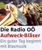 Die Radio Oberösterreich AufweckBläser
