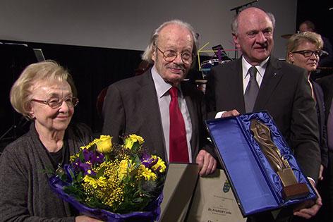 Friedrich Cerha Erwin Pröll Auszeichnung