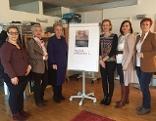 Sandra Gerdenitsch, Doris Prohaska, LR Verena Dunst,  Karin Gölly, LR Astrid Eisenkopf, Klaudia Friedl