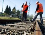 Gleisbauarbeiten der ÖBB