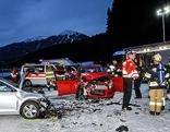 Verkehrsunfall mit zwei Autos