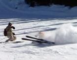 Skiunfall auf Piste