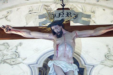 Kreuzweg und Kirche St. Georgen bei Salzburg