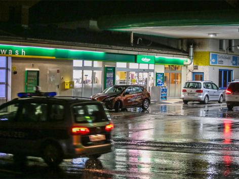 Versuchter Überfall auf Tankstelle