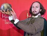 Wachsfigur von William Shakespeare bei Madame Tussauds Wien