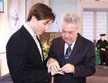 Peter Rainer und Bundespräsident Heinz Fischer