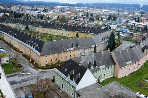 Kanaltalersiedlung Villach Abriss Proteste Neubau