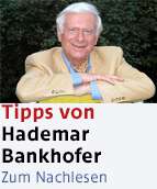 Hademar Bankhofer Promobutton