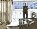 Soldat in Spielfeld