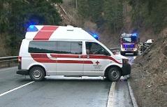 Rettung Rotes Kreuz Feuerwehr Unfall Verkehrsunfall Neumarkt Blaulicht