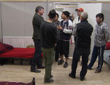 Flüchtlinge Unterkunft Lustenau Disko