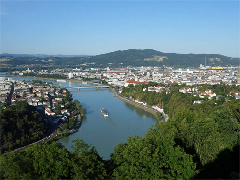 Stadt Linz Panorama