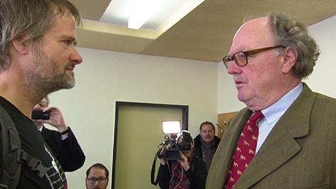 Martin Balluch und Alfons Mensdorff-Pouilly