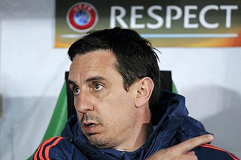 Valencia-Trainer Gary Neville