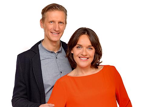 Oliver Zeisberger und Eva Pölzl