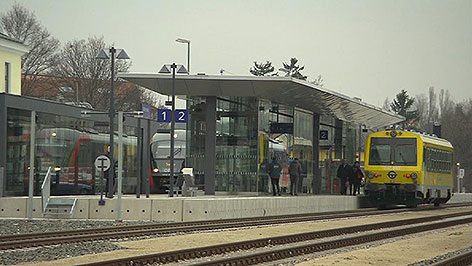 Neuer Bahnhof Mattersburg