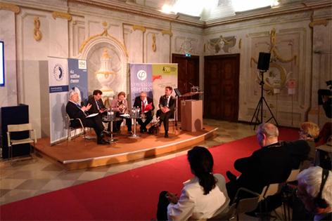 Podiumsdiskussion über Migration im Stift Dürnstein