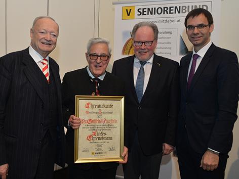 Seniorenbund Werner Huber neu
