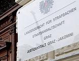 Eingang zum Grazer Straflandesgericht