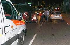 Unfall Altach angefahren Fußgänger