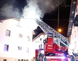 Wohnhausbrand in Salzburg-Gnigl