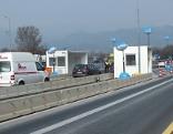 Kontrollstelle auf Autobahn bei Kiefersfelden