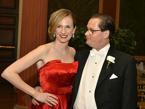 Maria Großbauer und Gerald Großbauer, Philharmoniker-Chef