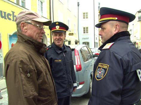 """Polizei Pilotprojekt in Schärding: """"Sicherheitsbürger"""""""