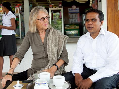 Sri Lanka, Schulprojekt von Kathrin Messner und Josef Ortner