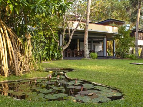 Sri Lanka, Schulprojekt von Kathrin Messner und Josef Ortner, das mit einem Gästehaus begann