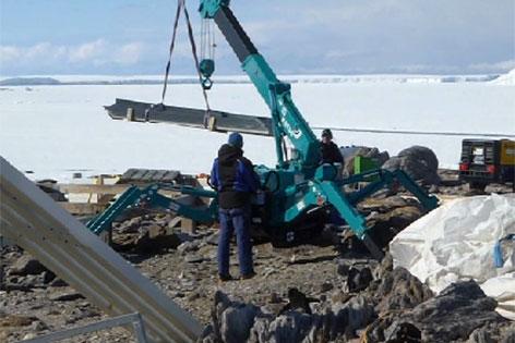 Auftrag in der Antarktis