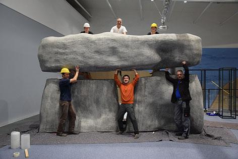 Stonehenge Ausstellung MAMUZ