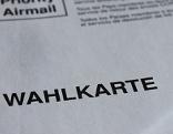 Bundespräsidentenwahl Griss Hofer Hundstorfer Van der Bellen Lugner Khol Briefwahl Stimmzettel