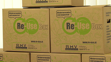 """""""Re-Use""""-Boxen"""
