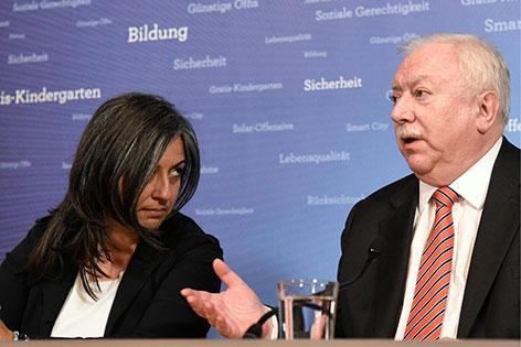 Maria Vassilakou und Michael Häupl
