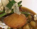 Gemüseeintopf mit Kartoffeltascherl